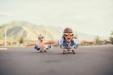 Enfants en Skate